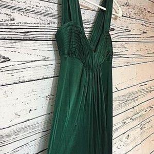 BCBG Max Azria Emerald Green Dress